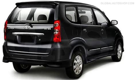 toyota avanza rear chrome trunk lid trim rear chrome trim