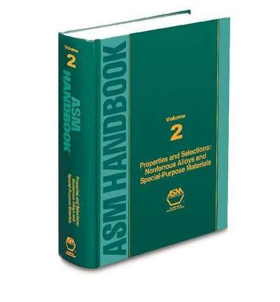 a s purpose book pdf asm handbook nonferrous alloys and special purpose