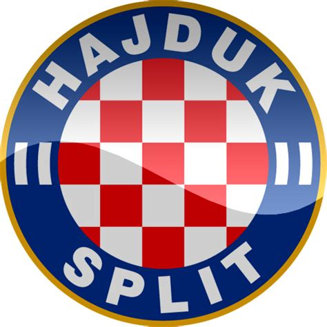 hnk hajduk split hd logo croatia football soccer world