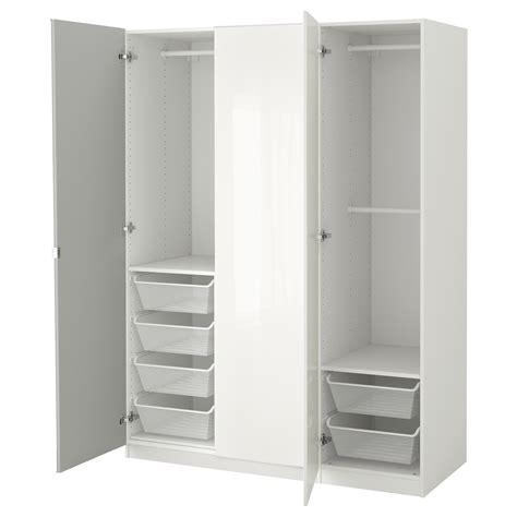 ikea pax fronten pax wardrobe white fardal vikedal 150x60x201 cm ikea
