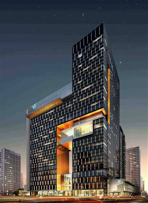 Future Building Designs W Hotels Worldwide Debuts In Mainland China With The