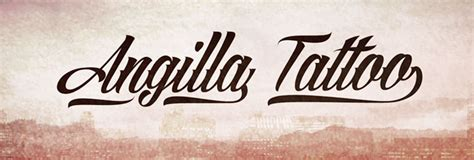 angilla tattoo numbers 25 free tattoo fonts with style for 2018