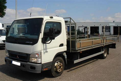 truck mitsubishi canter mitsubishi fuso truck canter 2008 used for sale
