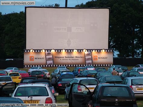 drive in cinema mj movies branded screen