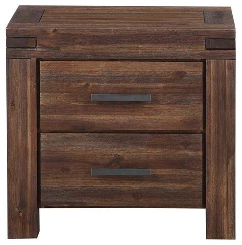 uptown 2 drawer charging station nightstand contemporary 2 drawer solid wood nightstand contemporary