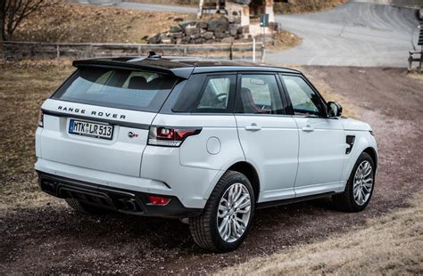 land rover svr white range rover sport svr toned in all terrain autocarweek com
