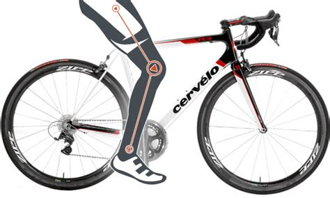 road bike fitting measuring for optimum cycling