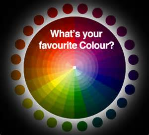 what does your favorite color what s your favourite colour