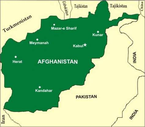 middle east map kabul stabilising afghanistan 187 indian defence review
