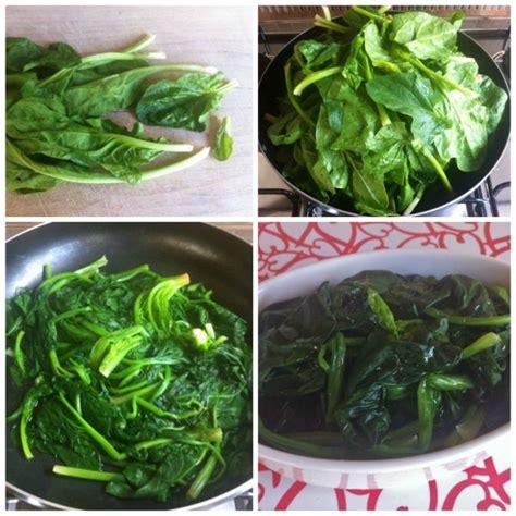 cucinare gli spinaci freschi come pulire gli spinaci pulire e cucinare gli spinaci