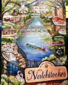 natchitoches christmas festival poster unveiled westcentralsbest com