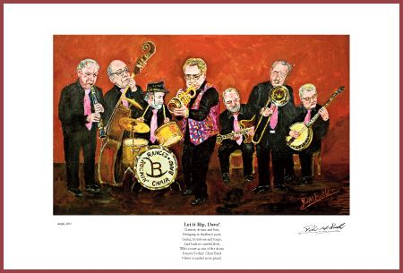 The Band Rockin Chair by Jazz Painting Of Rance S Rockin Chair Band