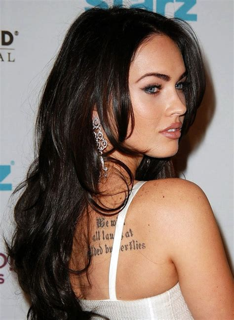 megan fox tattoos 41 megan fox tattoos creativefan