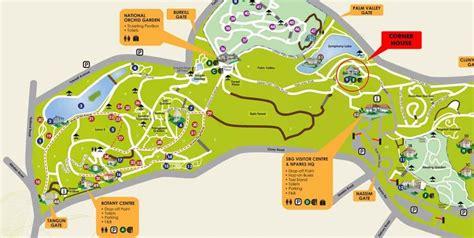 Singapore Botanical Garden Map Botanic Garden Singapore ស វ ង រក Botanic Park Botanic Park Singapore