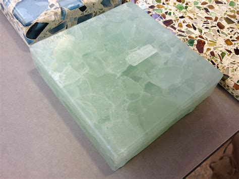 glas stab countertops sea glass countertops home design ideas