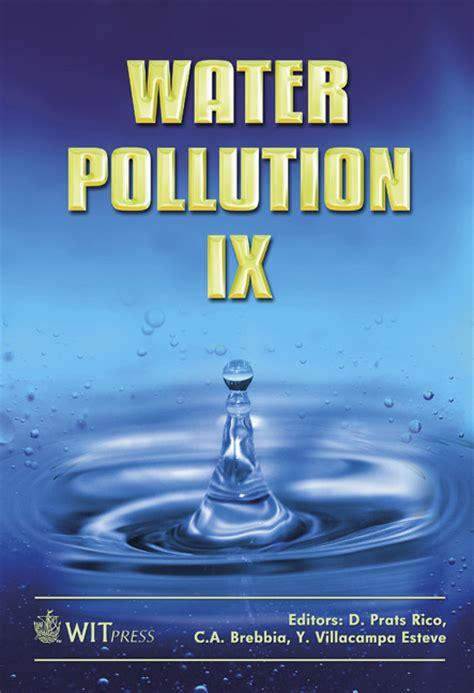 Water Resources Management2 Paket 3 Ebook water pollution ix