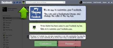 mozilla themes facebook my theme for facebook download