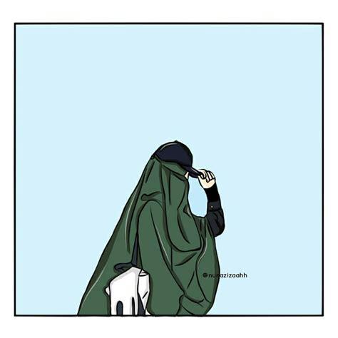 gambar anime kartun bercadar photo muslimah impremedia net