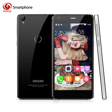 mobile phone octa original uhans s1 smartphone 5 0 inch android 6 0 mt6753