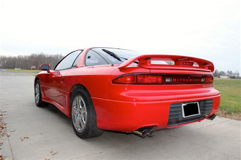mitsubishi 3000gt 1993 red mitsubishi 3000gt vr4 in very good condition