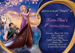 rapunzel tangled personalized birthday invitation ariel arrieta d mktg