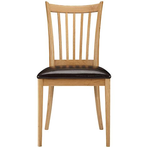 lewis 2 x essence dining chair oak new