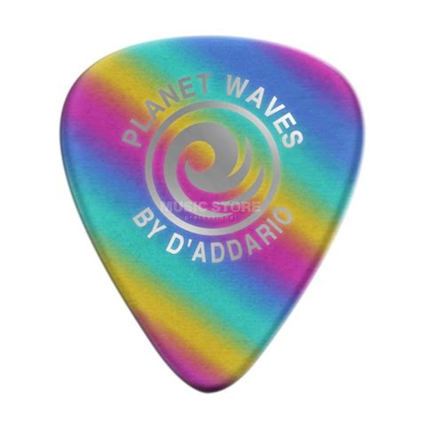 Diskon Gitar Planet Waves Celluloid Black Light 50 Mm d addario planet waves rainbow picks 0 50 mm 10 pack 1crb2 10