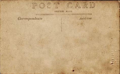 Postalatry Moving Day And Blank Vintage Postcards Free Vintage Postcard Template