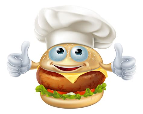 Yummiibear Cheese Burger Mascot Squishy chef burger mascot character stock vector illustration of burgers cheese 49301257