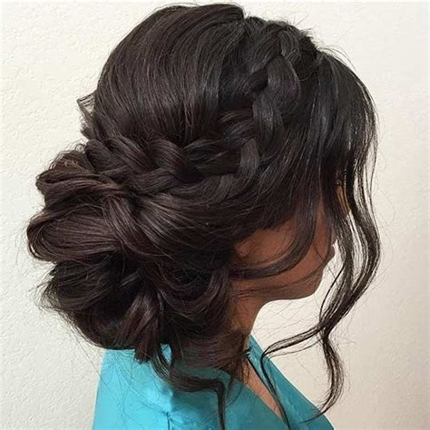 how to comb a bun with side swept bangs 25 best ideas about side swept updo on pinterest easy