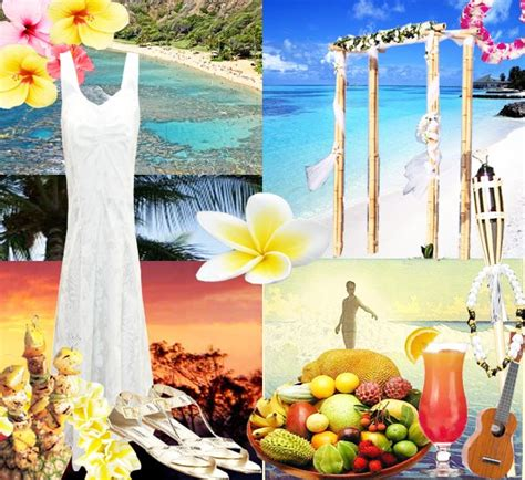 hawaiian wedding ideas hawaiian wedding theme