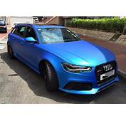 Matte Blue Audi RS6 Is Serious Eye Candy