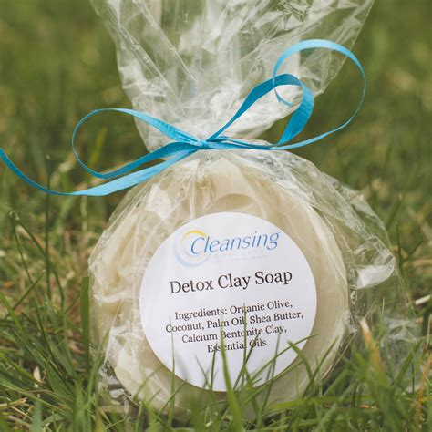 Detox Soap by Detox Clay Soap Cleansing Concepts Colon Hydrotherapy