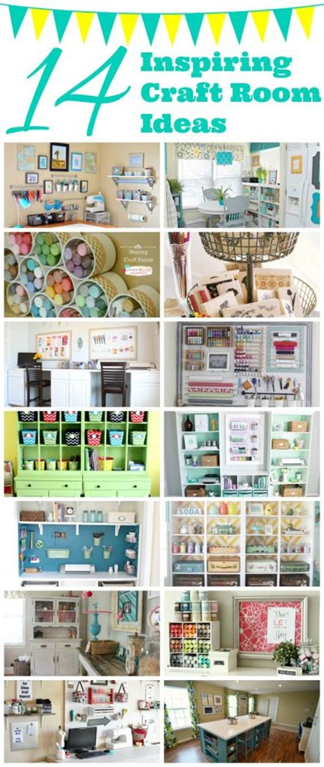 diy craft room organization ideas 14 inspiring craft room ideas addicted 2 diy