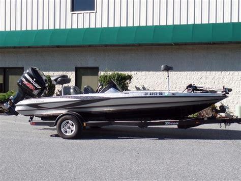 2016 triton bass boat 2016 used triton 18 trx18 trx bass boat for sale 38 488