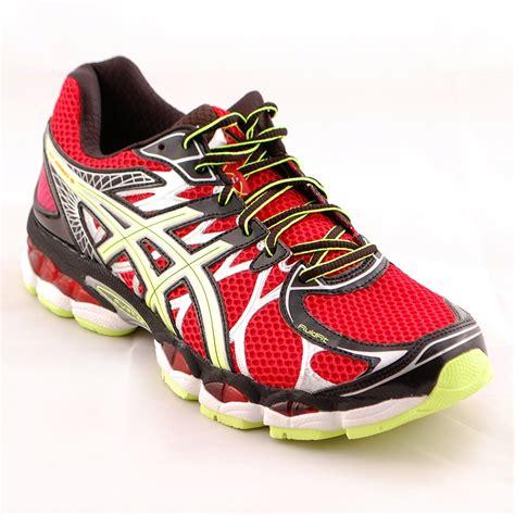 Sepatu Asics Gel Nimbus 16 tony pryce sports asics s gel nimbus 16 running trainer intersport