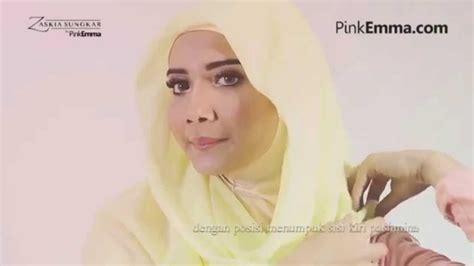 tutorial hijab pashmina zaskia sungkar tutorial hijab pashmina anggun dengan gaya minimalis