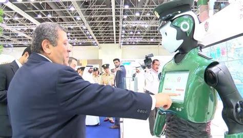 film robot polisi robot polisi pertama di dunia akan dipakai di kota dubai