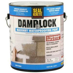 seal krete 1 gal dlock masonry waterproofing paint