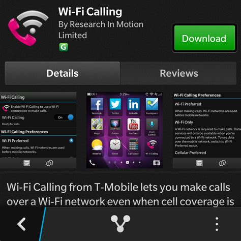 tmobile free wifi t mobile rolls out wi fi calling for blackberry 10 devices