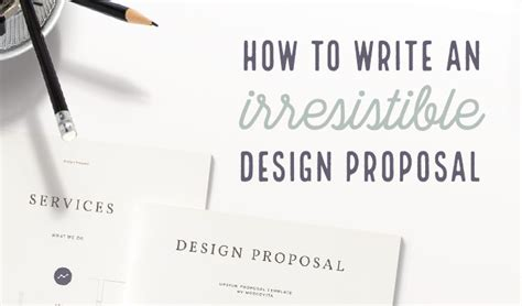 design collaboration proposal how to write a design proposal the ultimate guide