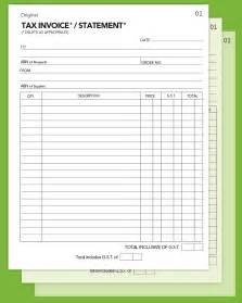 tax invoice statement template invoice template ideas