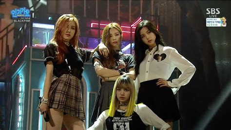 blackpink debut stage blackpink 붐바야 boombayah 0814 sbs inkigayo youtube