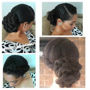 How To Make A Jewelry Roll - natural hair style elegant twisted bun youtube