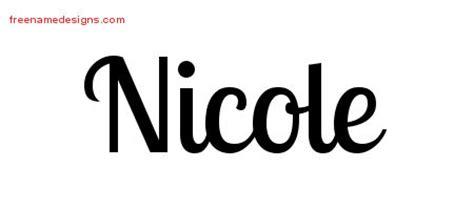 tattoo name designs nicole nicole archives free name designs