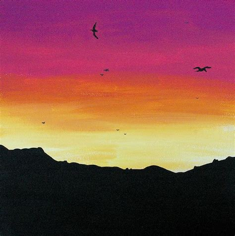 diy sunset painting 28 best images about burnt orange options on
