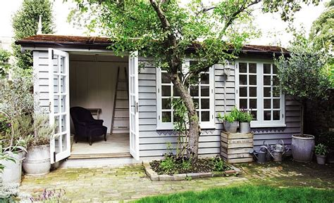 shed interior paint ideas interiors she shed heaven daily mail