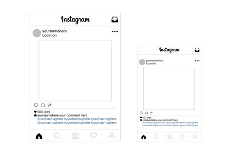 instagram layout sle instagram selfie cut outs in 24 hours easy signs