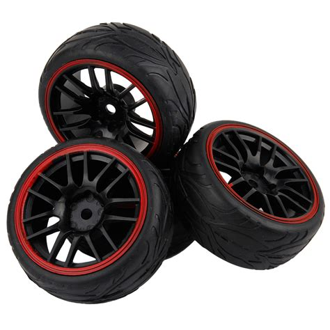for wltoys tamiya tyre and wheels 12mm hex 1 10 scale on road car ebay