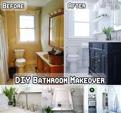 bathroom makeovers diy diy bathroom makeover diy craft projects